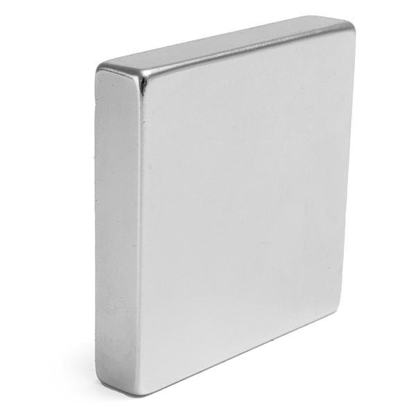 Tre Enorma Stark Neodym Block Magnet 50mmx54mmx10mm N35H Coola Prylar