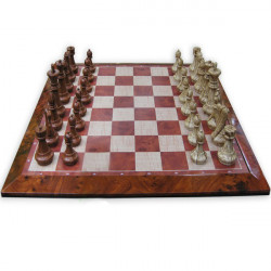 UB Imitation Cherry Wood Magnetisk Chess