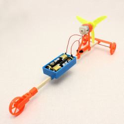 Vinddriven Bil DIY Creative Små Leksaker Technoogy Produktion
