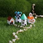 Windmühle Hut Landschaft Moos Landschaft Ornamente Spiel