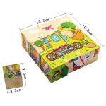 Træ 3D Havdyr Puslespil Wisdom Jigsaw Børn Education Legetøj Model Byggesæt