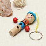 Trä Mini Utvecklings Musical Whistle Kids Leksak Pedagogisk Leksak Modellbyggsatser