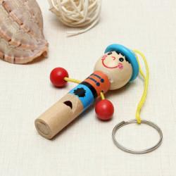 Træ Mini Developmental Musikal Whistle Børn Legetøj Pædagogisk Legetøj