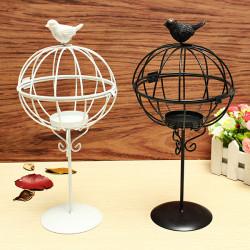ZAKKA Lampe Schmiedeeisen Kerzenhalter zur Innenausstattung