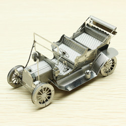 ZOYO Car DIY 3D Laser Cut Models Puzzle