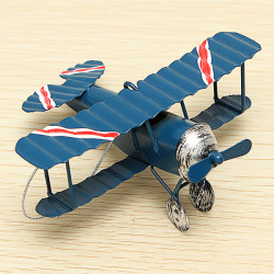 Zakka Biplane Household Old Handicraft Photo Prop