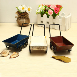 Zakka Small Handcart Decoration Toy Photography Props