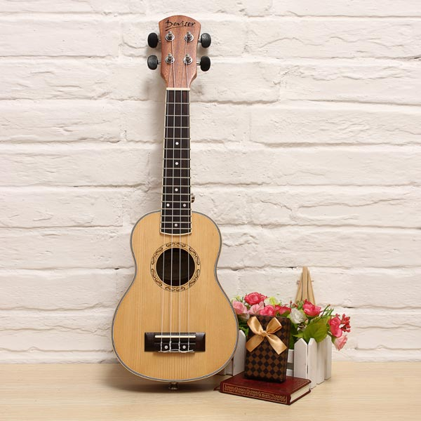 "21"" Deivser Sopran Style Advanced Ukulele UK21 70S Musikinstrumente"