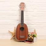 21 Inch Deviser Pineapple Shape Sapele Ukulele UK21-35 Musical Instruments