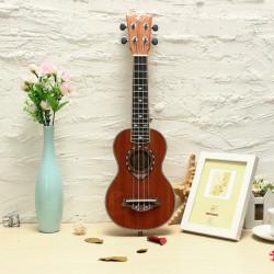 21 Inch Sapele Panel Ukulele Musical Instrument UK-LA1