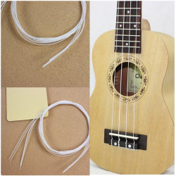 "4st 21"" Hawaii Ukulele Vit Nylon String"