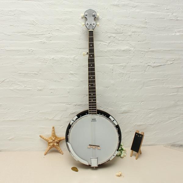 5-String Banjo Top Grade Utsökt Professional Wood Metall Musikinstrument