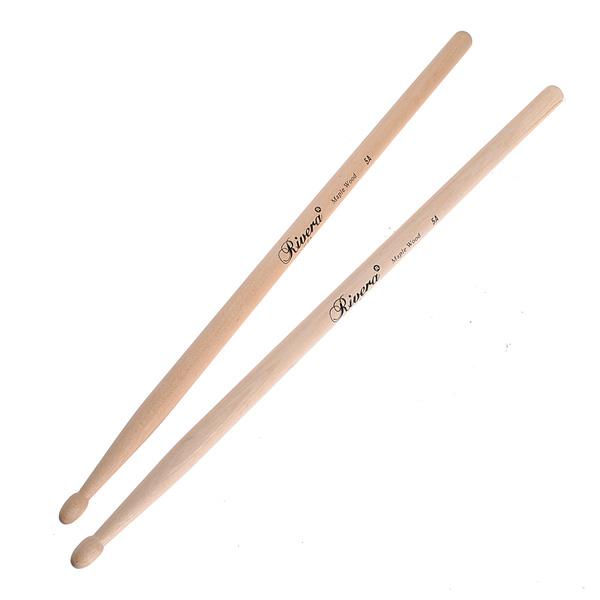 Ein Paar Musik Band Ahornholz Drumsticks Drumsticks 5A Musikinstrumente