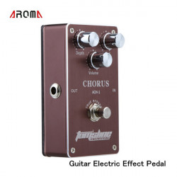 AROMA ACH-1 Effect Pedal Kor Ægte Bypass Guitar Tilbehør