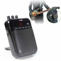 AROMA AG-03M Portable Charging Mini Guitar Amplifier Black