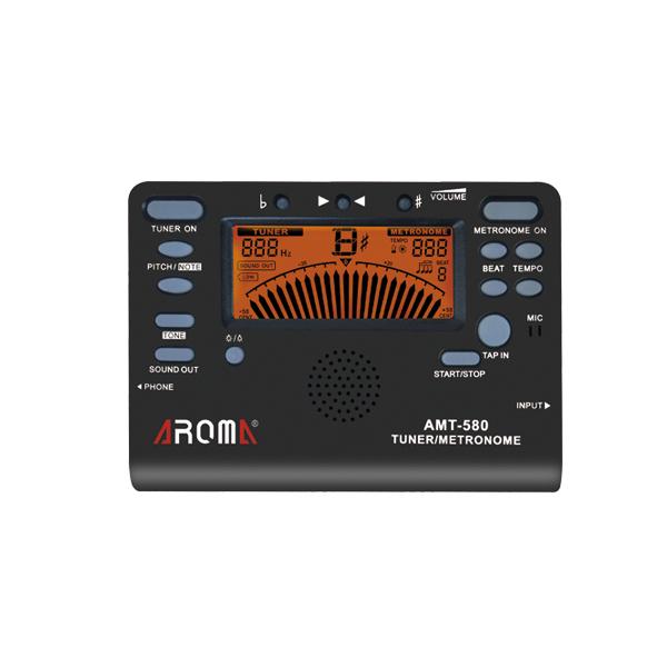 AROMA AMT 580 3 in 1 Taktmesser Ton Generato Tuner Musikinstrumente