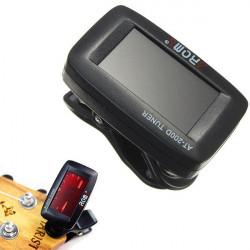 AROM AT-200D Kromatisk LCD-skärm Stämmning för Ukulele Gitarr Bas