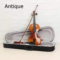 ASTONVILLA AV03 4/4 Glossy Oäkta Ebenholts Spruce Akustisk Violin