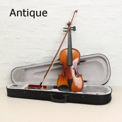 ASTONVILLA AV03 4/4 Glossy Imitation Ebony Spruce Acoustic Violin