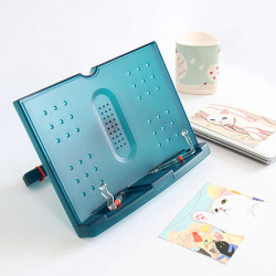 Einstellbare tragbare Musik Koch Buch Dokument Lesen Desk Stand Halter Book