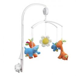 Kind Krippe Mobile Bed Glocke Spielzeug Halter Arm Bracket und Wind up Spieluhr
