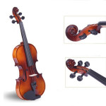 Bailing Spruce Playing Violin 4/4 with Bow Rosin Case Musical Instruments