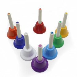 Kinder Babymusikalspielzeug Handglocke Handglocke Spielzeug Musikinstrumente