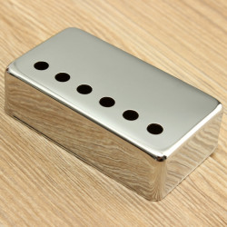 Chrome Guitar Humbucker Pickup Bridge Cover for LP Guitar Dele