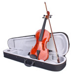 Colorful Violin 4/4 Acoustic Not Fade Violin with Case&Bow Musical Instruments