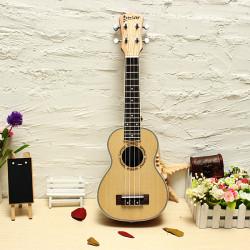 "Deviser 21"" Ukulele Hawaiian Saiteninstrument Gitarre UK21 60"