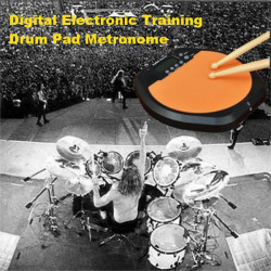 Digital Electronic Drum Pad for Training Practice Metronome