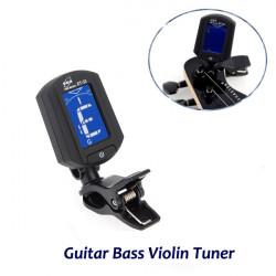 ENO ET-33 Digital Elektronisks Mini Clip On Guitar Bass Violin Tuner
