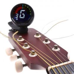 ENO ET-39 Clip Automatiska Digital Bass Gitarr Ukulele Violin Fiol Tuner