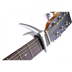 Flanger Aluminium Gitarr Capo för 6-Strängad Akustisk Elgitarr