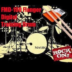 Flanger FMD 100 Digital Schlagzeuger Trainings Drum Practice Pad Metronome