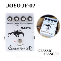 Flanger JOYO JF 07 Klassische Gitarre Effektpedal True Bypass Entwurf