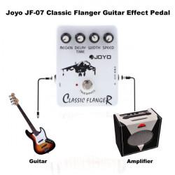 Flanger Joyo JF 07 Klassische Gitarren Effekt Pedal mit True Bypass Entwurf