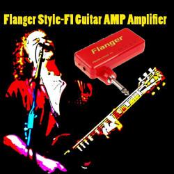 Flanger Style-F1 Miniatyr Bärbara Hörlurar Gitarr AMP Förstärkare