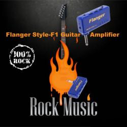 Flanger Art F1 Miniatur beweglicher Kopfhörer Gitarre Ampere Verstärker