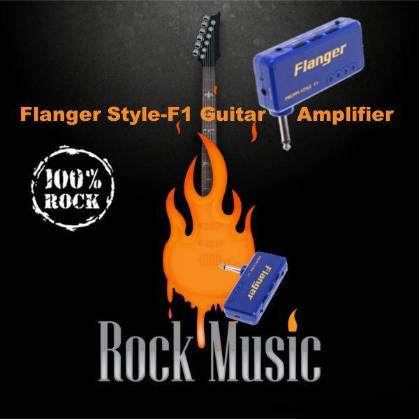 Flanger Style-F1 Miniature Portable Headphone Guitar AMP Amplifier Musical Instruments