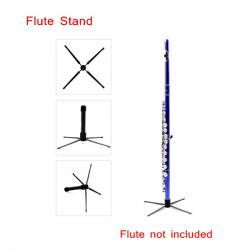 Flöjt Stand / Tripod Hållare med 4 Ben Löstagbar Bärbar Design
