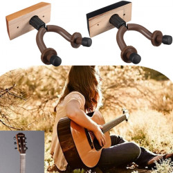 Guitar Hanger Hook Holder Wall Mount Display for Guitarer Bass Violin