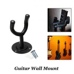 Gitarr Hängare Wall Mount Hooks Stand Hållare Musikinstrument