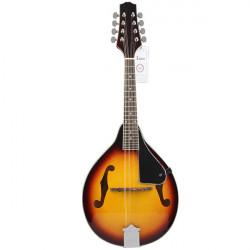 IRIN Mandoline 8 String Sunset Art elegante sowie gewölbte Holz