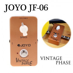Joyo JF-06 Gitarr Effect Pedal Vintage Phase True Bypass