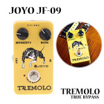 JOYO JF-09 Tremolo Guitar Effect Pedal With True Bypass Musical Instruments