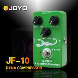 JOYO JF 10 Dynamischer Kompressor Gitarre Effektpedal True Bypass