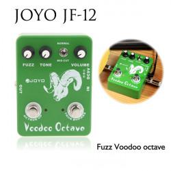 JOYO JF-12 Guitar Effect Pedal Fuzz Effect Voodoo Octave True Bypass