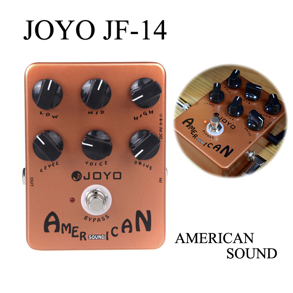 Joyo JF-14 American Sound Amp Sumilator Gitarr Effect Pedal Musikinstrument