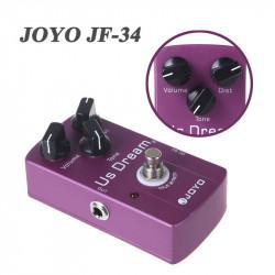 Joyo JF-34 US Dröm Distpedal Fotomkopplare Gitarr Effect Pedal